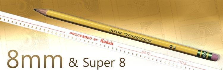 Super-8, Super 8 Film & Normal 8mm Reel Info